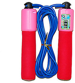 Adjustable Skipping / Jumping Rope with Counters (Colours may vary)