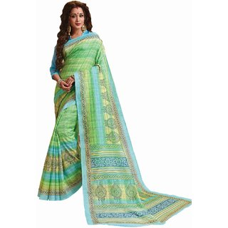 sudarshansilk Green Cotton
