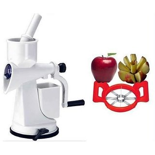 The Professional Fruit Juicer With Apple Cutter