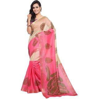 8ffdc08e6e3c65 Buy Meia Multicolor Mysore Art Silk Printed Saree With Blouse Online ...