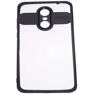 OGW REDMI NOTE 5 -  transprent  back case cover black