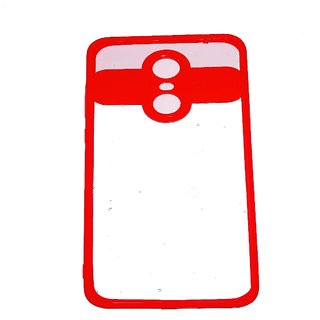 OGW REDMI NOTE 5 -  transprent cover  back case cover red