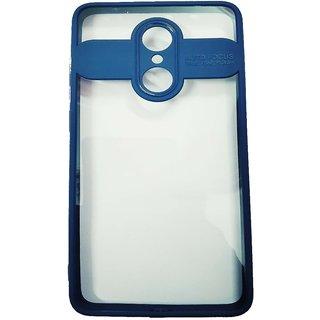 OGW REDMI  5 -  transparent  back case cover blue