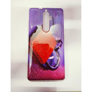 OGW LENOVO K8 PLUS - printed metalik  ring image back case cover