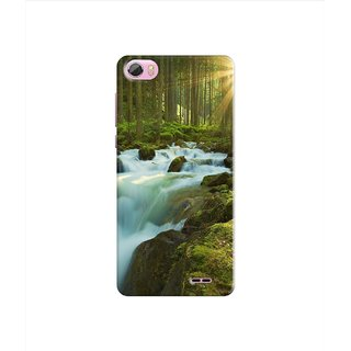 PREMIUM STUFF PRINTED BACK CASE COVER FOR LAVA PIXEL V2S DESIGN 5041