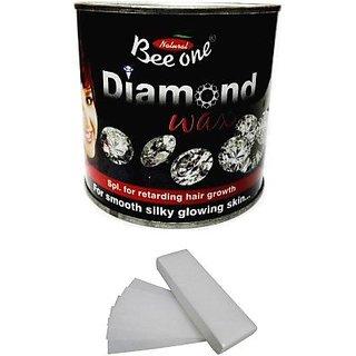 Beeone Diamond Wax With 100 Strips (600 g)