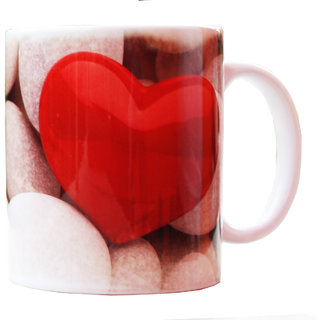 White I Love You On Stone Mug Gifts For Boyfriend Girlfriend Fiance Him Her Men Girl Birthday Anniversary Everyday Gift