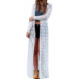 White long shrug