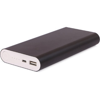 Hamine m8 fast charge portable battery charger 20800 Mah Power Bank (black)