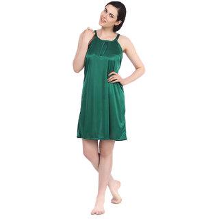 Fasense satin sexy nightwear sleepwear short nighty for women DP055