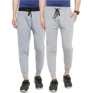 SPYFI MEN'S MULTICOLOR COTTON BLEND CASUAL JOGGERS