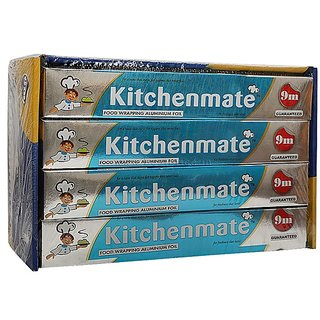 Kitchenmate Aluminium Foil Set Of 4 (9Mtr)