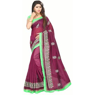 Indian Fashionista Multicolor Cotton Dobby Saree With Blouse