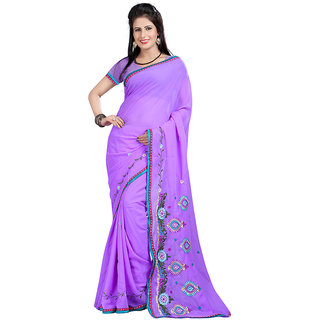 WatchBro Multicolour Cotton Sarees For Women and Girls