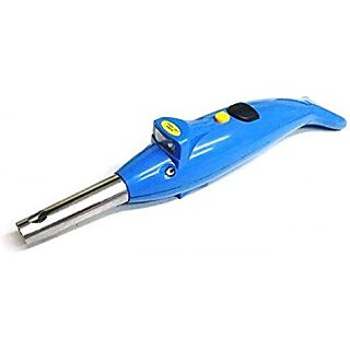 Dolphin Shape 2 IN 1 Electronic Gas Lighter + Led Torch