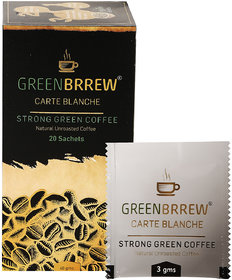 Greenbrrew Instant Green Coffee Beans Extract (Carte Bl