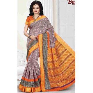 f3cb387d7d Buy Subhash Multicolor Plain Cotton Saree For Women Online - Get 40% Off