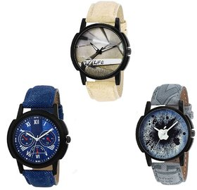 New Lorem Copmbo Pack Of 3 Watch Multi Stylist Looking