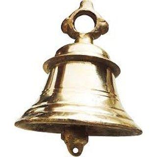 Devama the Divine Elegant Pure Brass Ghanta of 1.5kg