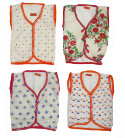 4 Pic Set for Pure Cotton lite weight Dress for (0-12) Months Baby