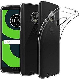 Motorola Moto G6 transparent back cover soft silicon case TPU Original case
