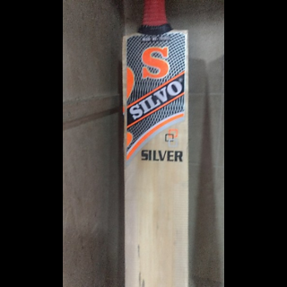 Mumbai Tattoo S Silvo Silver Cricket Bat