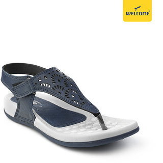 Welcome LC-16 Navy Casual Women Sandal