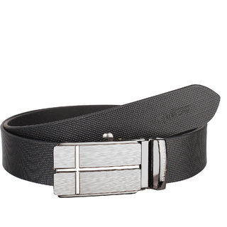 b6b7d1e66 Buy SPAIROW Men S 100% Genuine Leather Autolock Belts (AAR-0401 BLACK)  Online - Get 81% Off
