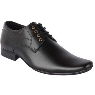 Goosebird Synthetic Leather Stylish Office Shoes