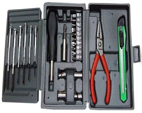 Mini Hobby Tool Kit Set Screwdriver Set Of 25 Pieces - HOBYTOL