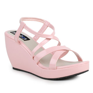 Sapatos  Women's Pink Wedges