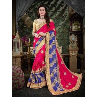 22f7f1f7e55e1f Buy Manohari Designer Pink Art Silk Saree Online - Get 75% Off