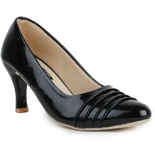Sapatos Black Kitten Heels For Women