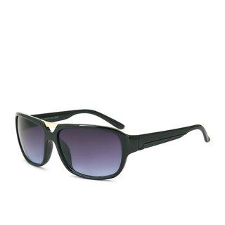 Royal Son UV Protected Square Sunglasses For Men (HI0052|57|Blue Lens)