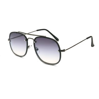 d4c101ddbb0 Royal Son UV Protected Square Sunglasses For Men And Women  (WHAT5285