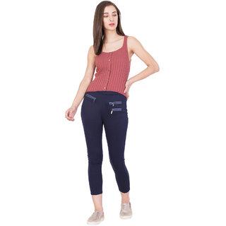 BOXYMOXY women's stylish knitted rib tank top (Size:Extra Large) -  Pink