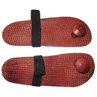 Triple S Handicrafts Wooden Foot Massager (Slippers)