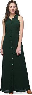 ANB-012 Green Vault Long Dress