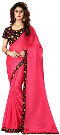 Gurukrupa Digital Peach Silk Wedding Saree With Blouse