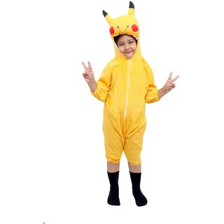 Nfd Pikachu Kids Fancy Costume Wear
