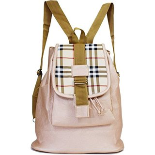e8975c282b3c Buy CHHAVI INDIA OFF WHITE PU BACKPACK (CIM0590S) Online - Get 55% Off