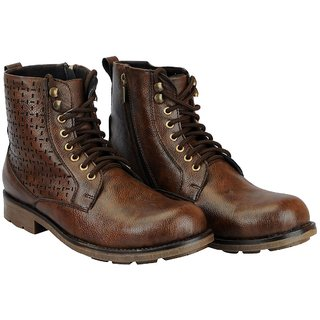 Goosebird Synthetic Leather Stylish Boots