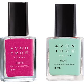 Avon True Color Nail Wear Pro+ (Hottie - Minty )