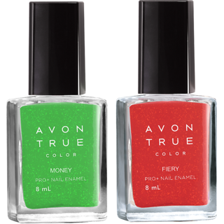 Avon True Color Nail Wear Pro+ ( Money - Electric Fiery )