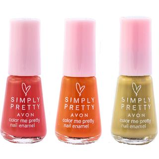 SP Nail Enamel Restage (Burnt Sand - Juicy Orange - Pink Crush)