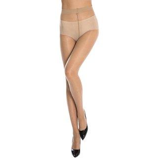 0761c84e58a476 Buy Beige Full Foot Fleece lined Tights Stocking For Girl Women ...