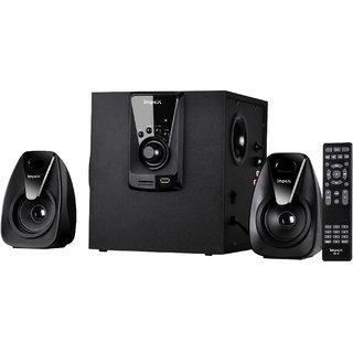 Impex MUSIK PLUS- HT2111 Portable Bluetooth Home Audio Speaker  (Black, 2.1 Channel)