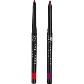True color Glimmerstick Lipliner ( Red Brick - Deep Plum )