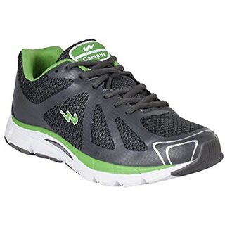 Campus Lion D.Gry/Grn Men Running Shoes