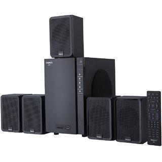 Impex BRIO Portable Home Audio Speaker  Black, 5.1 Channel